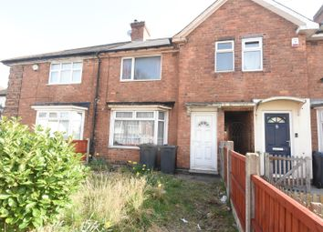 Thumbnail Terraced house for sale in Drews Lane, Ward End, Birmingham