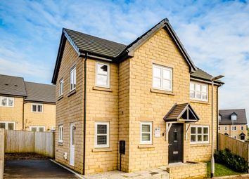 Thumbnail 3 bed detached house for sale in Chartist Close, Denholme, Bradford