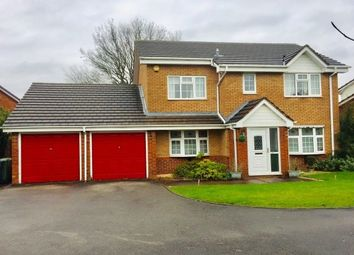 Thumbnail 4 bed detached house to rent in Nairn Road, Walsall
