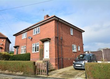 Thumbnail 3 bed semi-detached house to rent in Hungate Road, Sherburn In Elmet, Leeds
