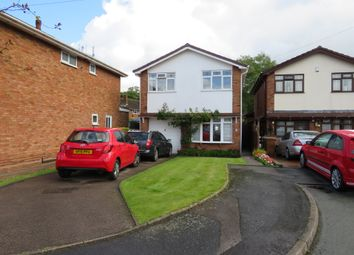 Thumbnail 4 bed detached house for sale in Bradgate Close, Willenhall