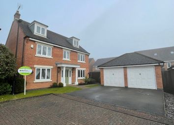 Thumbnail 5 bed detached house for sale in Thruppence Close, Coventry