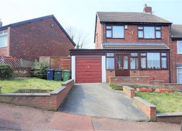 Thumbnail 3 bed semi-detached house for sale in Horncliffe Gardens, Newcastle Upon Tyne