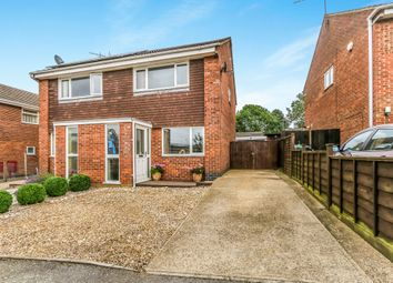 Thumbnail 2 bed semi-detached house for sale in Navisford Close, Thrapston, Kettering