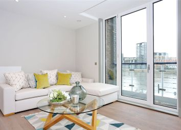 Thumbnail 3 bed flat for sale in Ivory House, Clove Hitch Quay, Battersea, London