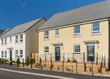 "Thumbnail 3 bedroom semi-detached house for sale in ""Barwick"" at Tiverton Road, Cullompton"