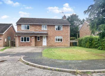Thumbnail 4 bed detached house for sale in Saffrons Close, Woolpit, Bury St. Edmunds