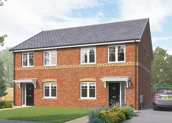"Thumbnail 3 bed semi-detached house for sale in ""The Kilmington"" at Greaves Lane, Stannington, Sheffield"