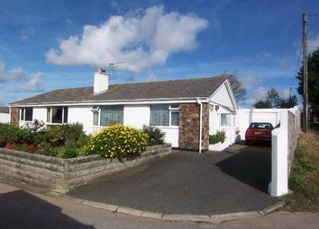 Thumbnail 2 bed semi-detached bungalow to rent in Roseland Park, Camborne, Cornwall