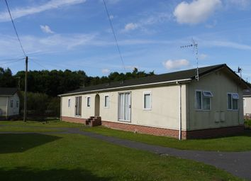 Thumbnail 2 bed mobile/park home to rent in Moor Farm Park, Moor Lane, Calverton