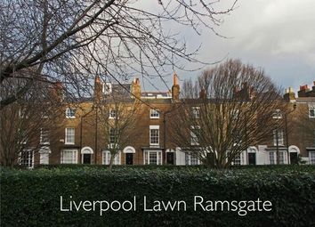 Thumbnail 3 bed terraced house for sale in Liverpool Lawn, Ramsgate