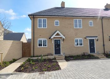 Thumbnail 2 bedroom semi-detached house to rent in Carnaile Road, Alconbury Weald, Huntingdon