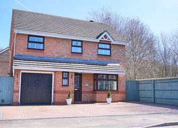 Thumbnail 4 bed detached house for sale in Hatherall Close, Swindon