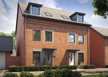 "Thumbnail 3 bedroom semi-detached house for sale in ""Norbury"" at Langaton Lane, Pinhoe, Exeter"