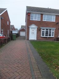 Thumbnail 3 bed semi-detached house to rent in Laburnum Drive, Church Meadows, Grimsby