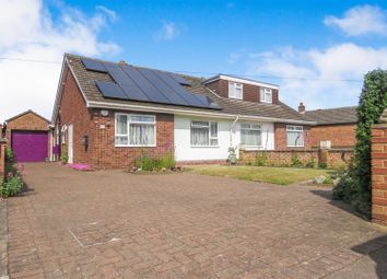 Thumbnail 3 bed semi-detached bungalow for sale in Holme Court Avenue, Biggleswade