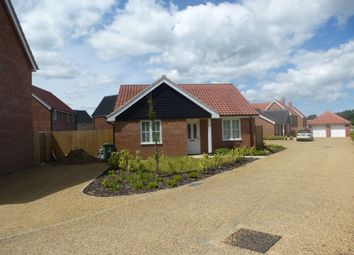 Thumbnail 2 bed detached bungalow for sale in Baileys Loke, Stalham, Norwich