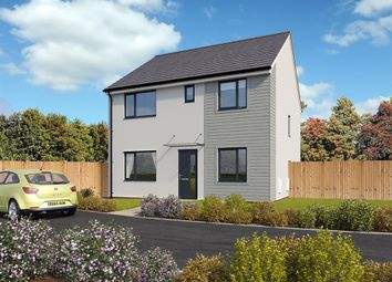 "Thumbnail 4 bed detached house for sale in ""The Knightsbridge"" at Pomphlett Farm Industrial, Broxton Drive, Plymouth"