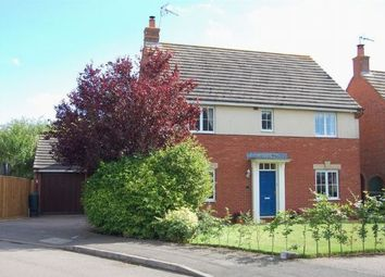 Thumbnail 4 bed detached house for sale in Lattimore Close, West Haddon, Northampton