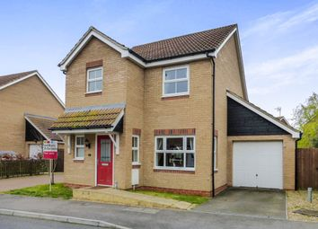 Thumbnail 3 bed detached house for sale in Oxfield Drive, Gorefield, Wisbech