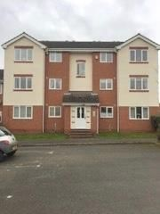 Thumbnail 2 bed flat to rent in Aspen Close, Measham, Swadlincote