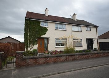 Thumbnail 3 bed semi-detached house for sale in Chapelton Gardens, Dumbarton