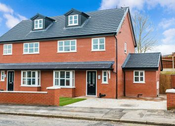 Thumbnail 4 bed semi-detached house for sale in Park Brook Lane, Shevington, Wigan