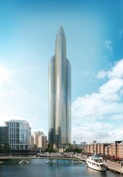 Thumbnail 1 bed flat for sale in Spire London Canary Wharf, London