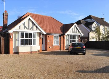 Thumbnail 4 bedroom detached bungalow for sale in Foxhall Road, Ipswich