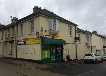 Thumbnail Retail premises for sale in Plymouth, Devon