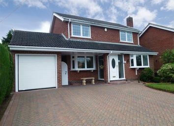 Thumbnail 4 bed detached house for sale in Walton Hill, Castle Donington, Derby