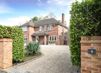 Thumbnail 4 bed detached house for sale in Kingsley Avenue, Camberley, Surrey