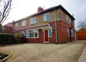 Thumbnail 4 bedroom semi-detached house for sale in Beckfield Lane, York