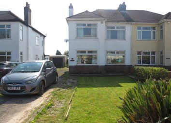 Thumbnail 3 bedroom semi-detached house for sale in Port Road East, Barry