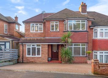 Thumbnail 4 bed semi-detached house to rent in Eskdale Gardens, Purley