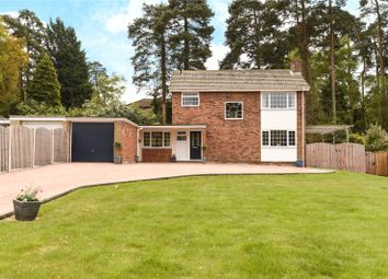 Thumbnail 3 bed detached house for sale in Clewborough Drive, Camberley, Surrey