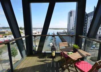 Thumbnail 2 bedroom flat to rent in The Boathouse, Ocean Drive, Gillingham