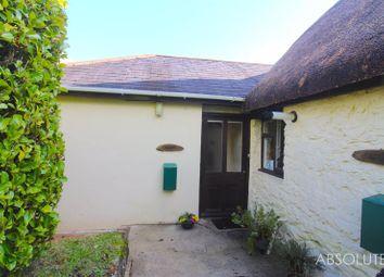 Thumbnail 1 bed bungalow to rent in Whilborough, Newton Abbot