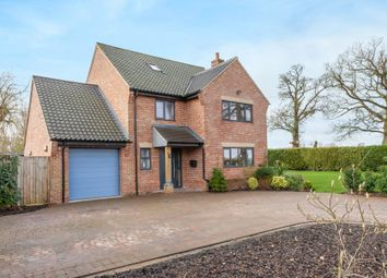 Thumbnail 5 bed detached house for sale in Wymondham Road, Ashwellthorpe, Norwich