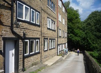 Thumbnail 1 bed terraced house to rent in Sunny Bank, Mytholmroyd, Hebden Bridge