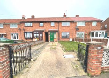 Thumbnail 3 bed terraced house for sale in Somerville Avenue, Gorleston, Great Yarmouth