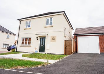 Thumbnail 3 bed detached house for sale in Kilbride Way, Peterborough