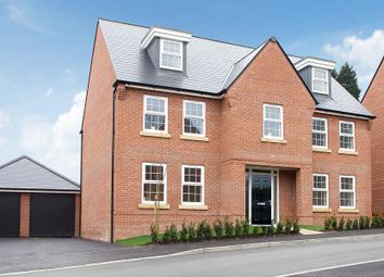 "Thumbnail 5 bed detached house for sale in ""Lichfield"" at Park View, Moulton, Northampton"
