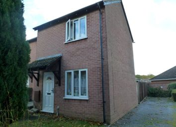 Thumbnail 1 bed end terrace house to rent in Taverner Close, Sholing, Southampton
