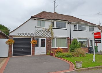 Thumbnail 3 bed semi-detached house for sale in Windmill Avenue, Rednal, Birmingham