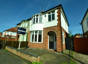 Thumbnail 3 bedroom semi-detached house for sale in South Knighton Road, Leicester