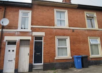 Thumbnail 2 bed terraced house for sale in Webster Street, Derby