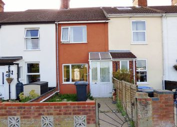 Thumbnail 2 bed terraced house for sale in Fir Lane, Lowestoft