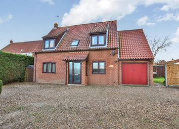 Thumbnail 3 bed detached house for sale in Dereham Road, Whinburgh, Dereham