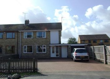Thumbnail 3 bed semi-detached house for sale in West Row, Bury St. Edmunds, Suffolk